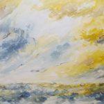 Wind auf hoher See