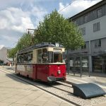 Die alte Straßenbahn